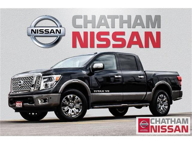 2019 Nissan Titan Platinum (Stk: 1N429) in Chatham - Image 1 of 26