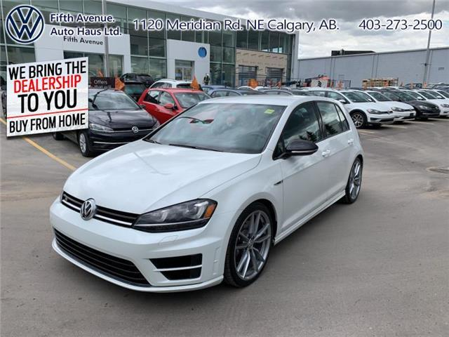 2017 Volkswagen Golf R 2.0 TSI (Stk: 3564) in Calgary - Image 1 of 28