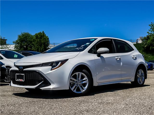 2020 Toyota Corolla Hatchback Base (Stk: 02272) in Waterloo - Image 1 of 16
