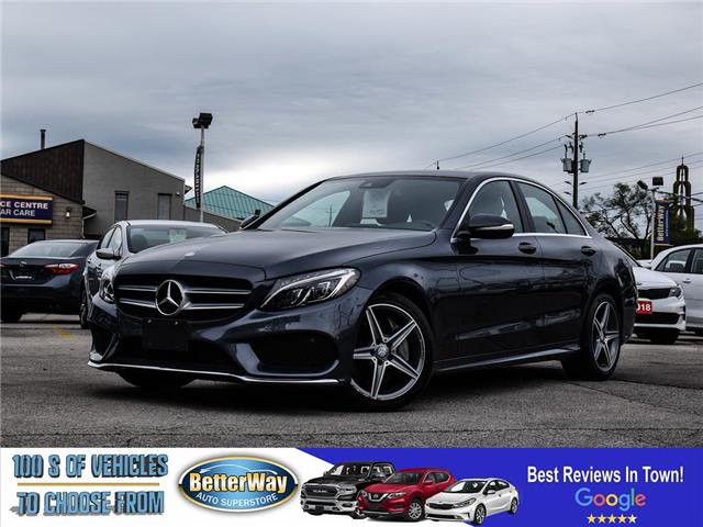 2015 Mercedes-Benz C-Class C 300 | 4matic | Leather | Moonroof | Loaded (Stk: 5646) in Stoney Creek - Image 1 of 26
