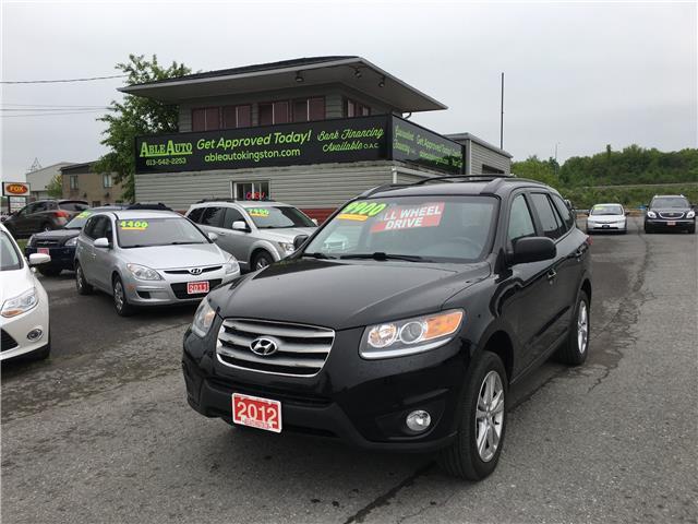 2012 Hyundai Santa Fe GL 3.5 Sport (Stk: 2666) in Kingston - Image 1 of 15