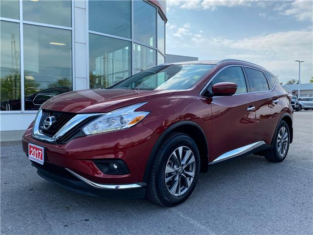 2017 Nissan Murano SL (Stk: CW091A) in Cobourg - Image 1 of 26