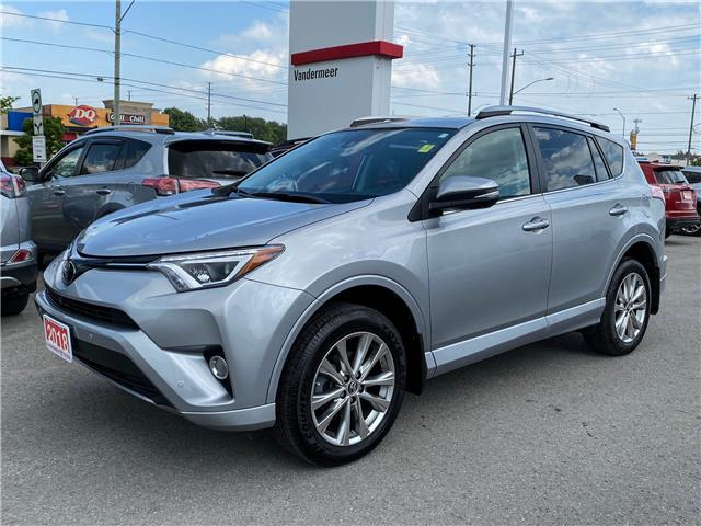2018 Toyota RAV4 Limited (Stk: W4960A) in Cobourg - Image 1 of 28