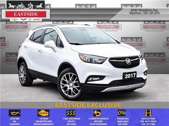 2017 Buick Encore Sport Touring (Stk: 085335B) in Markham - Image 1 of 27