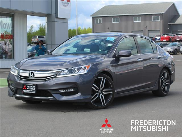 2016 Honda Accord Sport (Stk: 200683A) in Fredericton - Image 1 of 17