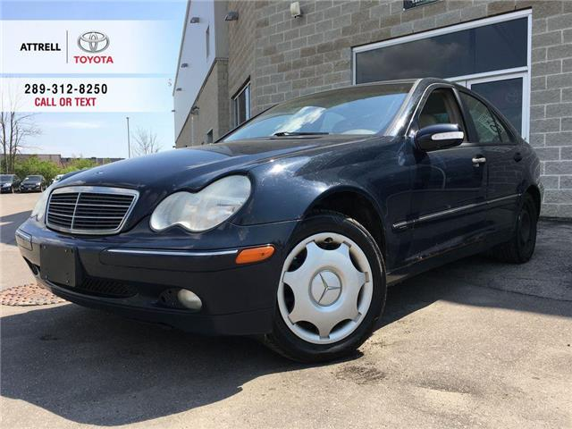 2002 Mercedes-Benz C-Class CLASSIC LEATHER, FOG LAMPS, HEATED SEATS, ABS, KEY (Stk: 47094A) in Brampton - Image 1 of 12