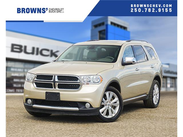 2011 Dodge Durango Crew Plus (Stk: T18-11655AA) in Dawson Creek - Image 1 of 19