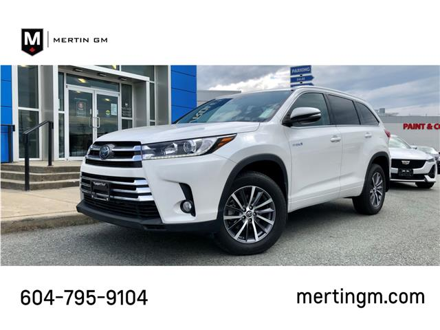2018 Toyota Highlander Hybrid  (Stk: 208-2582A) in Chilliwack - Image 1 of 10