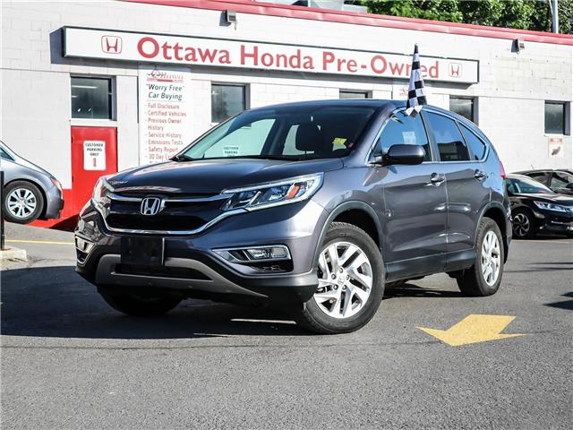 2016 Honda CR-V EX-L (Stk: H82320) in Ottawa - Image 1 of 30