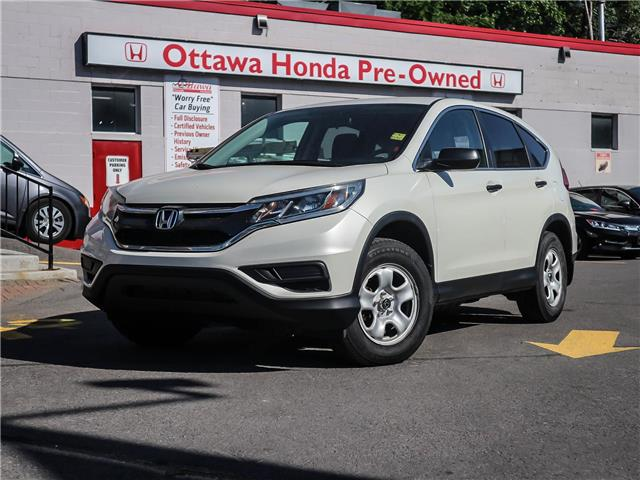 2015 Honda CR-V LX (Stk: H83090) in Ottawa - Image 1 of 26
