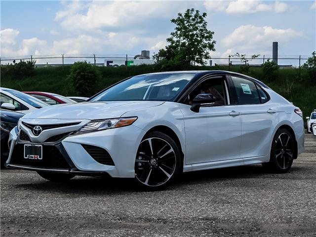 2020 Toyota Camry XSE (Stk: 03045) in Waterloo - Image 1 of 18