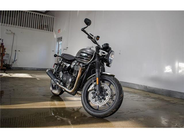 2019 Triumph Speed Twin Silver Ice and Storm Grey  (Stk: 36660) in SASKATOON - Image 1 of 5
