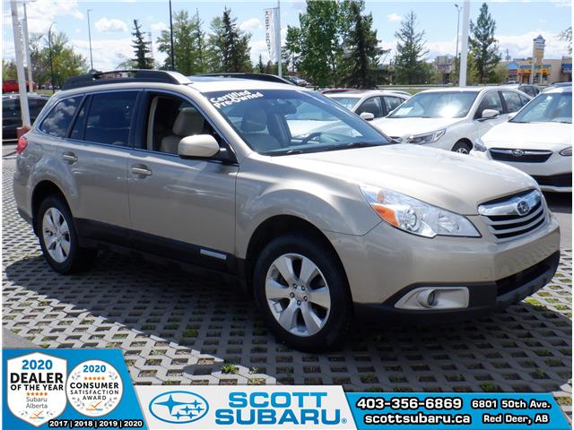 2010 Subaru Outback 3.6 R Limited Package 4S4BRJKC5A2363956 63956U in Red Deer