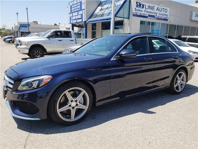 2016 Mercedes-Benz C-Class  (Stk: ) in Concord - Image 1 of 26