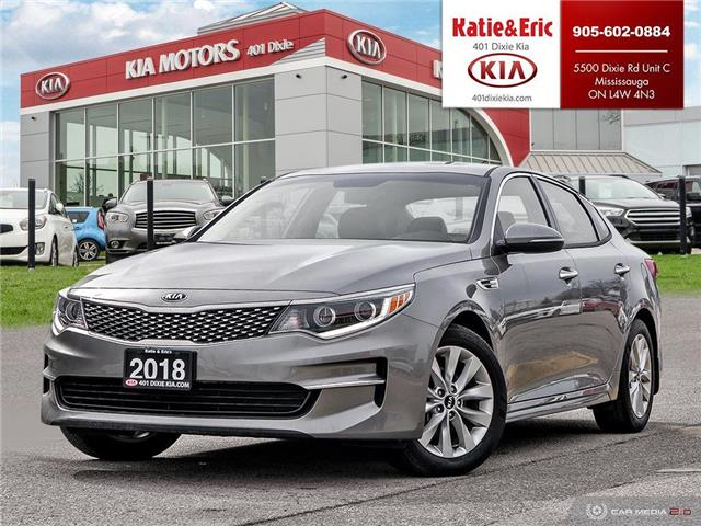 2018 Kia Optima EX (Stk: SO20032A) in Mississauga - Image 1 of 27