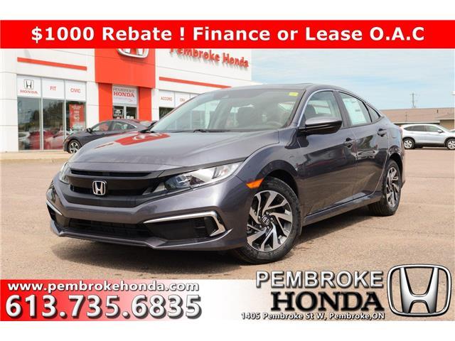 2020 Honda Civic EX (Stk: 20093) in Pembroke - Image 1 of 26