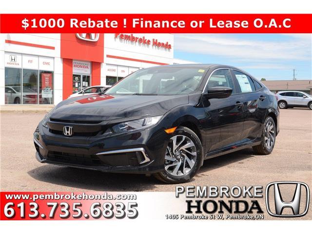 2020 Honda Civic EX (Stk: 20062) in Pembroke - Image 1 of 27
