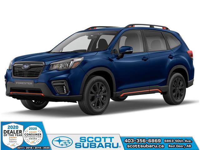2020 Subaru Forester Sport (Stk: 498565) in Red Deer - Image 1 of 10