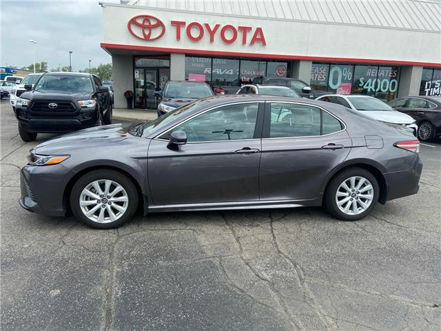 2018 Toyota Camry  (Stk: P0055600) in Cambridge - Image 1 of 9