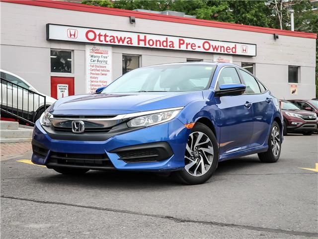 2016 Honda Civic EX (Stk: H81560) in Ottawa - Image 1 of 27