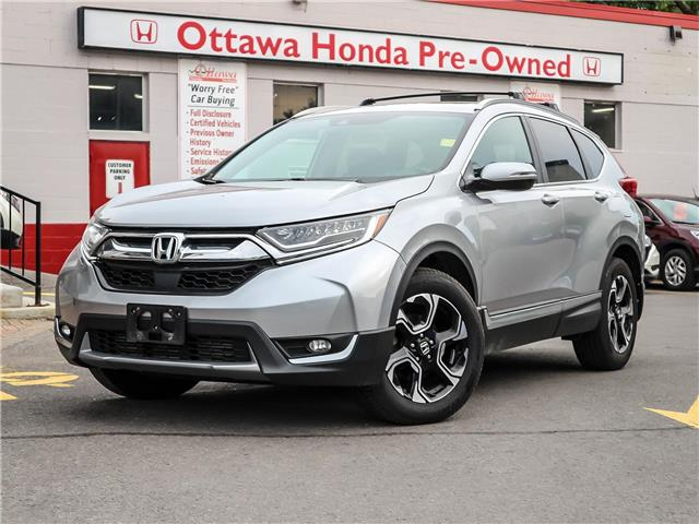 2017 Honda CR-V Touring (Stk: H82800) in Ottawa - Image 1 of 30