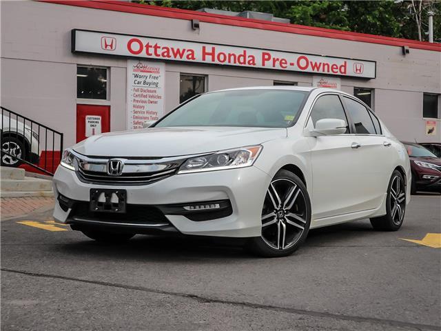 2016 Honda Accord Sport (Stk: H83190) in Ottawa - Image 1 of 28