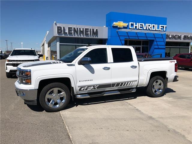 2015 Chevrolet Silverado 1500  (Stk: DL184A) in Blenheim - Image 1 of 17