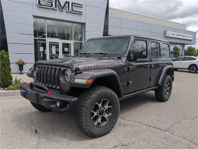 2018 Jeep Wrangler Unlimited Rubicon (Stk: 20466A) in Orangeville - Image 1 of 19