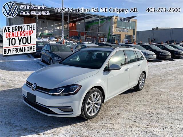 2018 Volkswagen Golf SportWagen 1.8 TSI Comfortline (Stk: 3509) in Calgary - Image 1 of 26