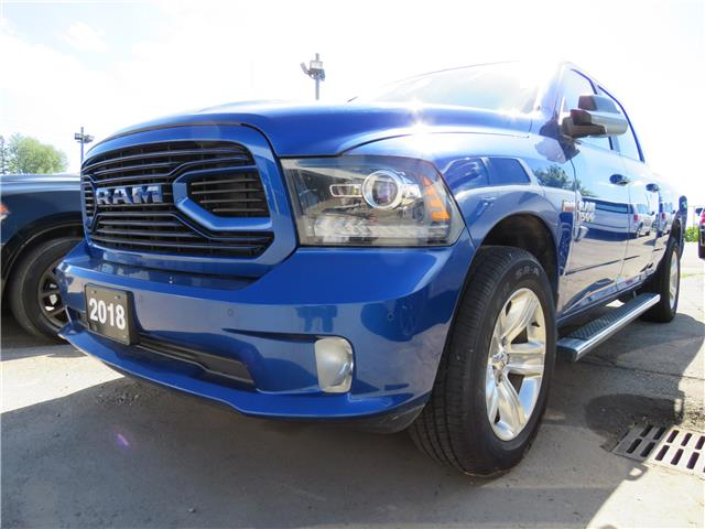 2018 RAM 1500 Sport (Stk: 87677) in St. Thomas - Image 1 of 4