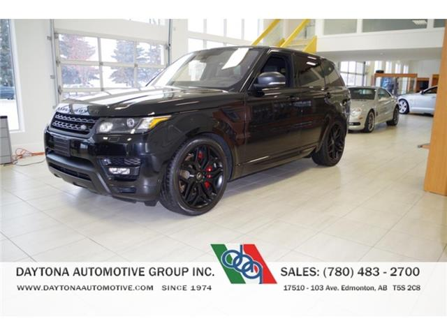 2016 Land Rover Range Rover Sport V8 Supercharged (Stk: 6531) in Edmonton - Image 1 of 15