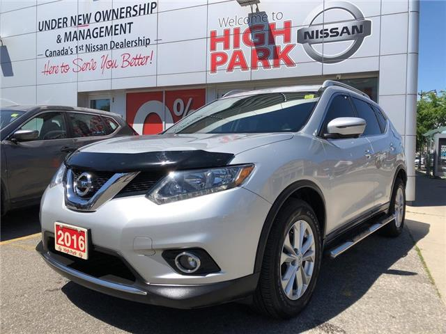 2016 Nissan Rogue SV (Stk: Y16195) in Toronto - Image 1 of 26
