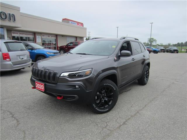 2020 Jeep Cherokee Trailhawk (Stk: 20166) in Perth - Image 1 of 24