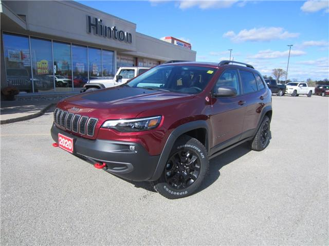 2020 Jeep Cherokee Trailhawk (Stk: 20014) in Perth - Image 1 of 25
