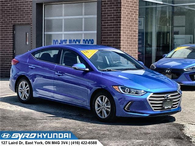 2018 Hyundai Elantra GL (Stk: H3431) in Toronto - Image 1 of 27