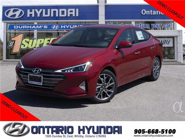 2020 Hyundai Elantra Preferred w/Sun & Safety Package (Stk: 952526) in Whitby - Image 1 of 16