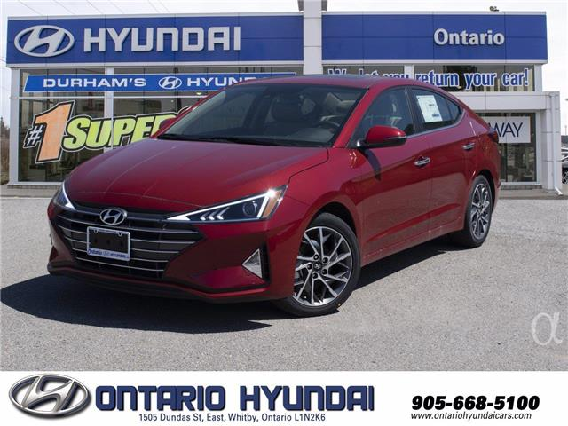 2020 Hyundai Elantra Luxury (Stk: 003791) in Whitby - Image 1 of 21