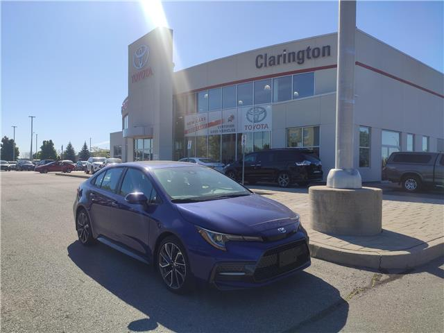 2020 Toyota Corolla SE (Stk: 20102) in Bowmanville - Image 1 of 16