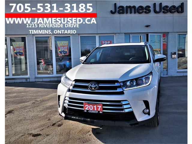 2017 Toyota Highlander Limited (Stk: N20195A) in Timmins - Image 1 of 14