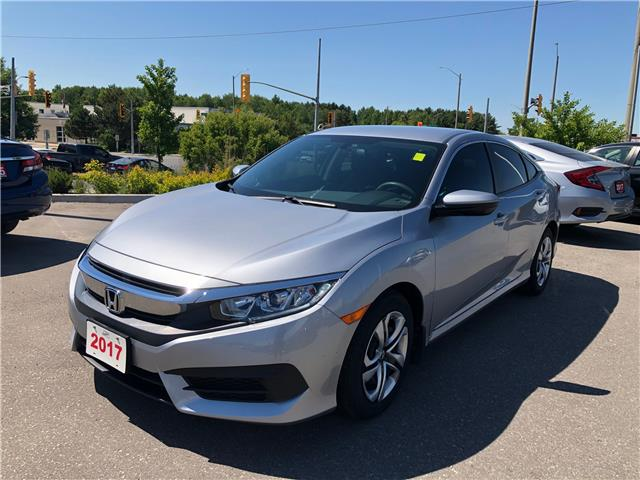 2017 Honda Civic LX (Stk: 20696A) in Cambridge - Image 1 of 11