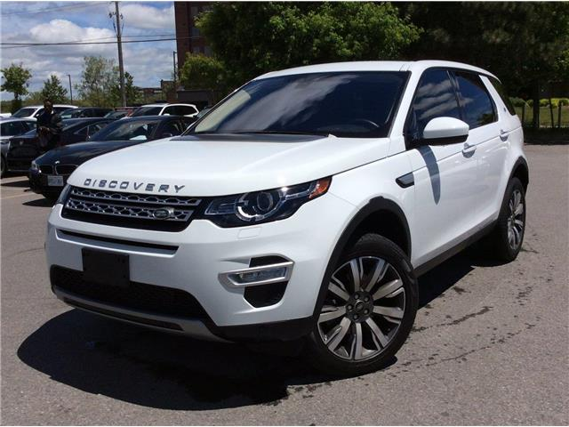 2017 Land Rover Discovery Sport HSE LUXURY (Stk: P9401A) in Gloucester - Image 1 of 28