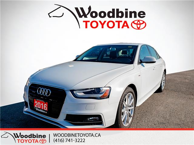 2016 Audi A4 2.0T Progressiv plus (Stk: 9-1122A) in Etobicoke - Image 1 of 22