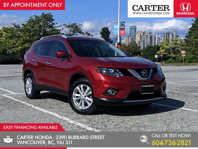 2016 Nissan Rogue SV (Stk: 8L31232) in Vancouver - Image 1 of 26