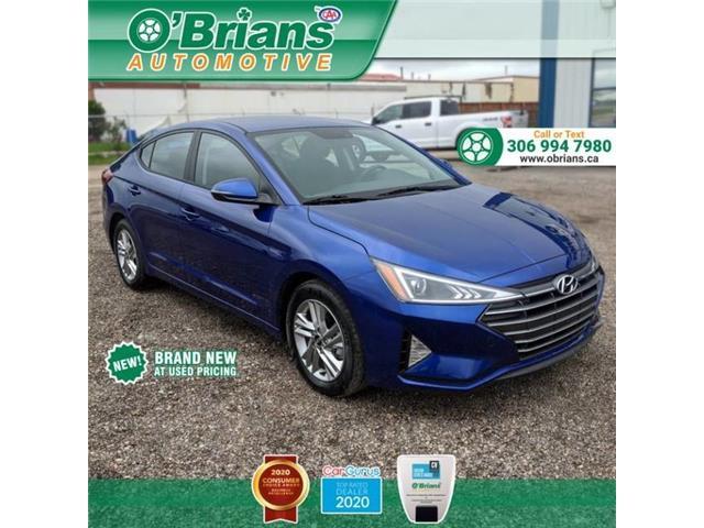 2020 Hyundai Elantra Preferred KMHD84LF5LU006421 13519A in Saskatoon