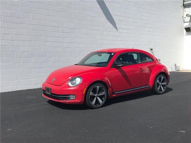2012 Volkswagen Beetle 2.0 TSI Sportline (Stk: VU977) in Sarnia - Image 1 of 24