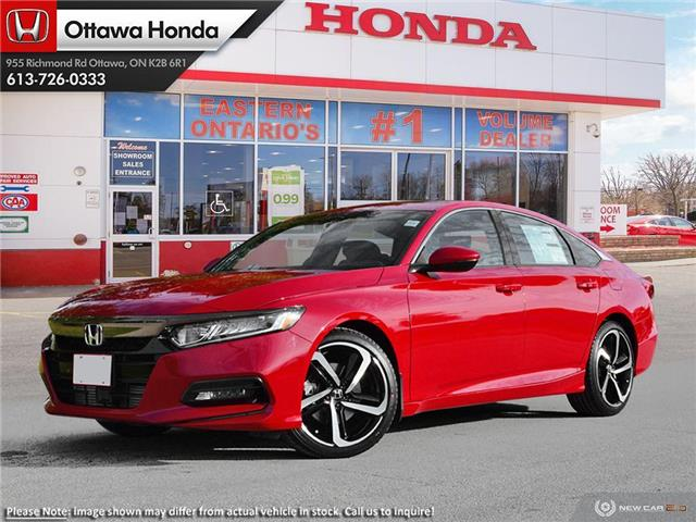 2020 Honda Accord Sport 1.5T (Stk: 335820) in Ottawa - Image 1 of 23