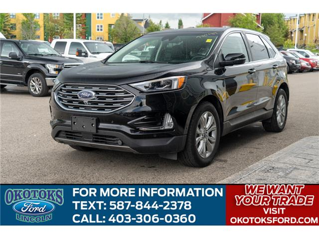 2019 Ford Edge Titanium (Stk: B81651) in Okotoks - Image 1 of 26