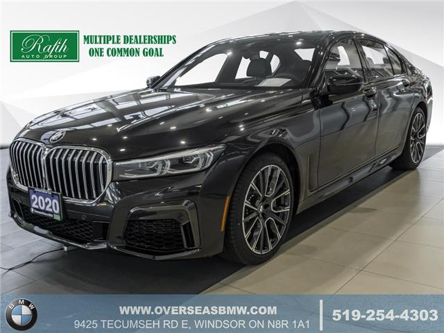 2020 BMW 750i xDrive (Stk: B8210) in Windsor - Image 1 of 27