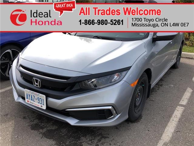 2020 Honda Civic LX (Stk: I200076) in Mississauga - Image 1 of 5