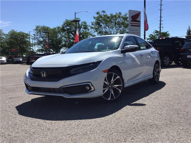 2020 Honda Civic Touring (Stk: 20400) in Barrie - Image 1 of 22